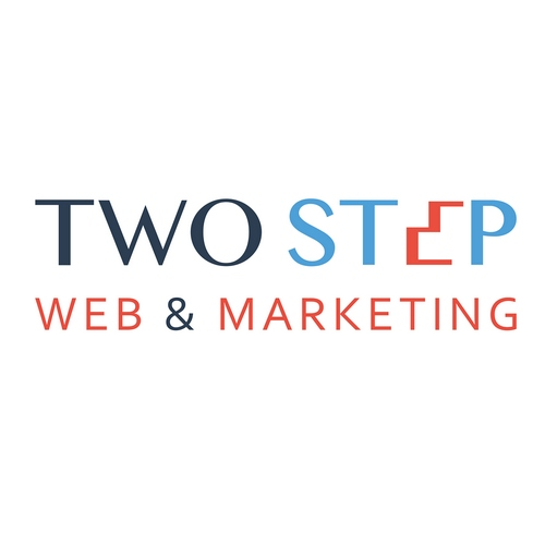 Logo Two Step Web & Marketing